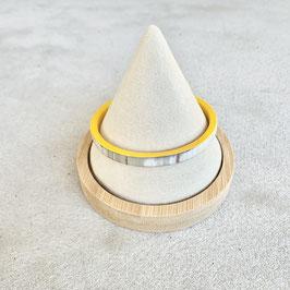 Jonc Plat moutarde