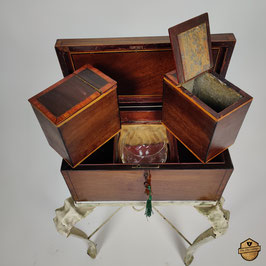 George III Tea Caddy Mahogany
