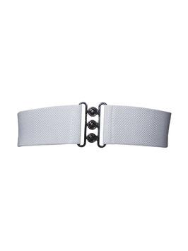 Collectif Nessa Cinch Belt in weiss