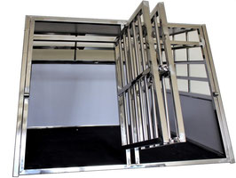 CAG-005 / Cage Caisse Transport Chien Double