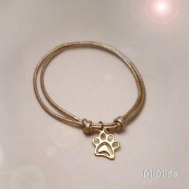 Bracelet design PAW PRINT