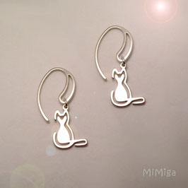 Earrings design CATS
