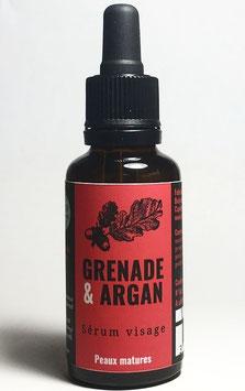 Sérum visage Grenade & Argan