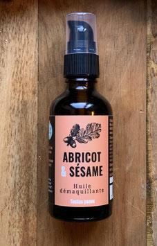 Huile démaquillante - Abricot & Sésame