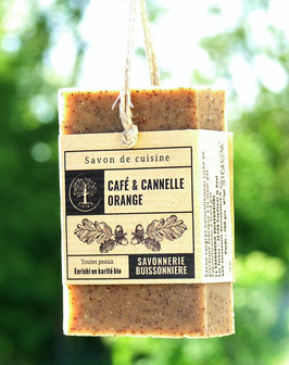 Savon de Cuisine Café & Cannelle-Orange