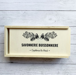 Coffret bois // Made in France