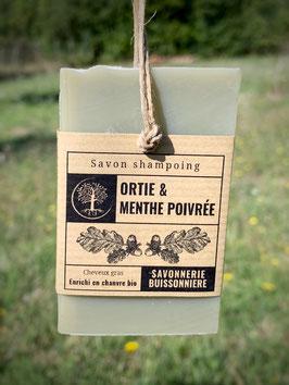 Savon Shampoing Ortie & Menthe poivrée - Nouveauté !