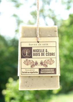 Savon Nigelle & Bois de Cèdre
