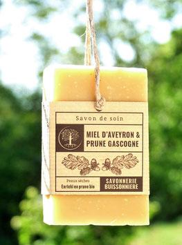 Savon Miel d'Aveyron & Prune gascogne