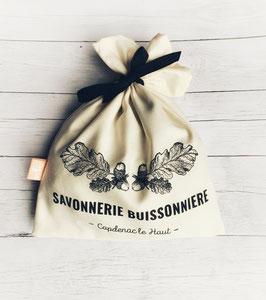 Pochette en coton bio // Made in France
