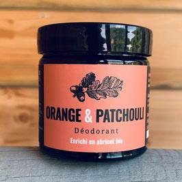 Déodorant - Orange & Patchouli - Nouveauté !