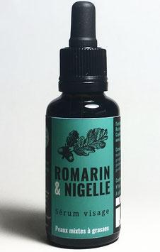 Sérum visage Romarin & Nigelle
