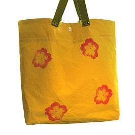 """Einkaufstaschen-Rucksack """"Flower"""""""