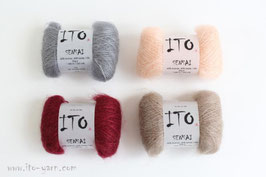 Morgenrot Stola - 2. Farbe wählen (4 Knäul)