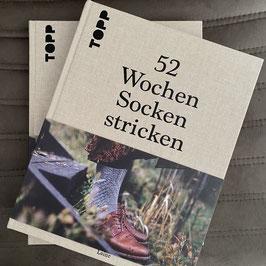 Buch: 52 Wochen Socken stricken