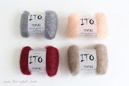 Morgenrot Stola - 1. Farbe wählen (4 Knäul)