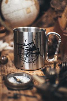 SBTC Compass Carbiner Mug