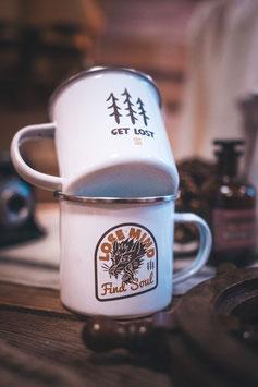 SBTC Lose Mind Enamel Mug