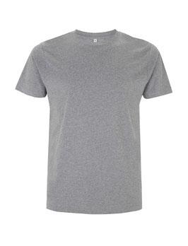 Basic T-Shirt melange grey