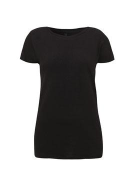 Basic T-Shirt schwarz (Damen)