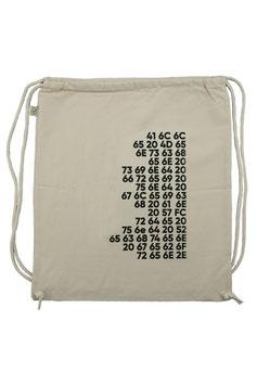 """Gym Bag """"Artikel 1"""" (Hex)"""