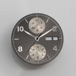 Set: 30.8mm Zifferblatt mit Zeigern für ETA 7750 / set: dial with hands for ETA 7750
