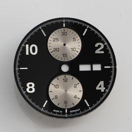 Zifferblatt Ø 30.8 und 34.80 für ETA 7750 Schwarz / dial black for ETA 7750