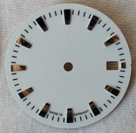 Zifferblatt Ø 29.30 mm für Eta 2824-2 weiß / Dial ETA 2824-2 Ziffernblatt Cadran Esfera