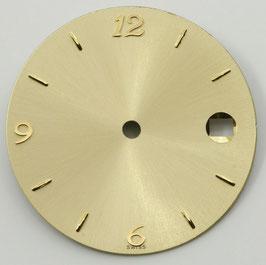 Zifferblatt Ø 28.55 mm für Eta 2824-2 gelb / Dial ETA 2824-2 Ziffernblatt Cadran Esfera NOS