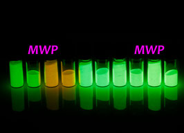 SWISS Newlite Luminova, Leuchtfarbe, Leuchtpigment, Leuchtmasse, Leuchtpaste - watch lume - luminous powder 1g / 2g / 4g