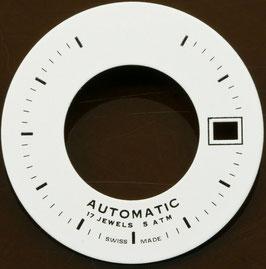 Zifferblatt Ø 28.80mm für Eta 2824-2 / Cadran Dial ETA 2824-2 3H Ziffernblatt Weiß