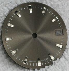 Zifferblatt Ø 27.00 mm für Eta 2824-2 Anthrazite / Dial ETA 2824-2 Ziffernblatt Cadran Esfera