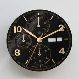 Set: 34.8mm Zifferblatt mit Zeigern für ETA 7750 / set: dial 34.8 mm with hands for ETA 7750