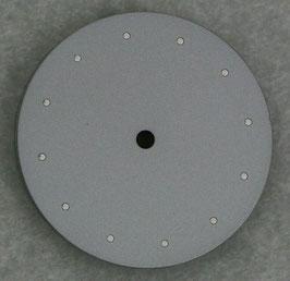 Zifferblatt Ø 29.3mm für ETA 2824-2 2804-2 2801-2 / Dial for ETA 2824-2 Cadran Esfera SILBER/GRAU
