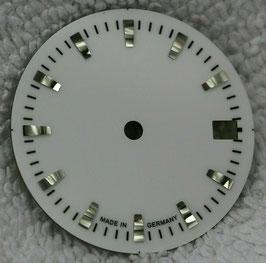 Zifferblatt Ø 27.00 mm für Eta 2824-2 weiß / Dial ETA 2824-2 Ziffernblatt Cadran Esfera