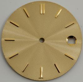 Zifferblatt Ø 27.85 für Eta 2892-2/ 2892A2; DIAL Cadran Esfera NEW GOLD GD02