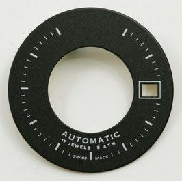 Zifferblatt Ø 28.80mm für Eta 2824-2 / Cadran Dial ETA 2824-2 3H Ziffernblatt Schwarz