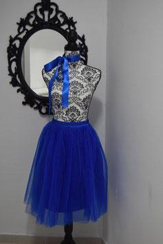 Midi Tulle Blue