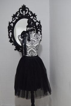 Midi Tulle Black