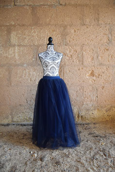 Tulle Blue