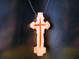 Croix Ethiopienne en Bois. Yesus