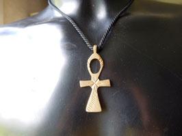 Croix Ethiopienne en Laiton Ankh 1