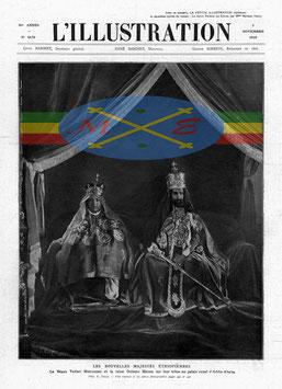 Les Nouvelles Majestés Ethiopiennes , 1928