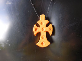 Croix Ethiopienne en Bois