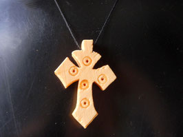 Croix Ethiopienne en Bois Cinko