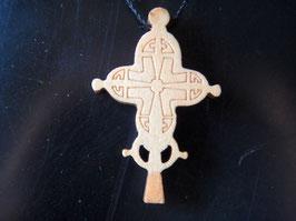 Croix Ethiopienne en Bois. Lalibela