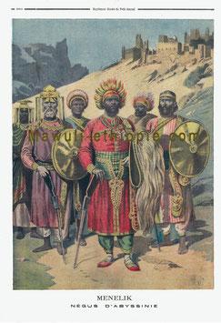 Ménélik II et sa cour, 1895
