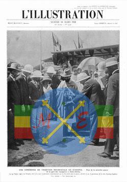 Première pierre Gare d'Addis Abeba