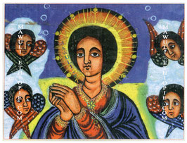 Christ et les 4 anges