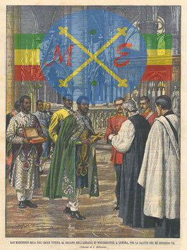 Ras Makonnen à Londres en 1902